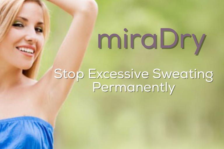 miraDry treatment for excessive underarm sweating