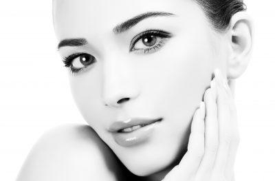 Beautiful girl with clean fresh skin