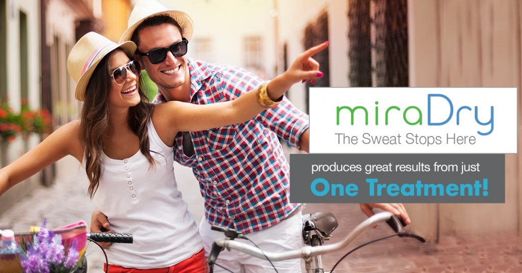 Miradry New Treatment for Excessive Underarm Sweating