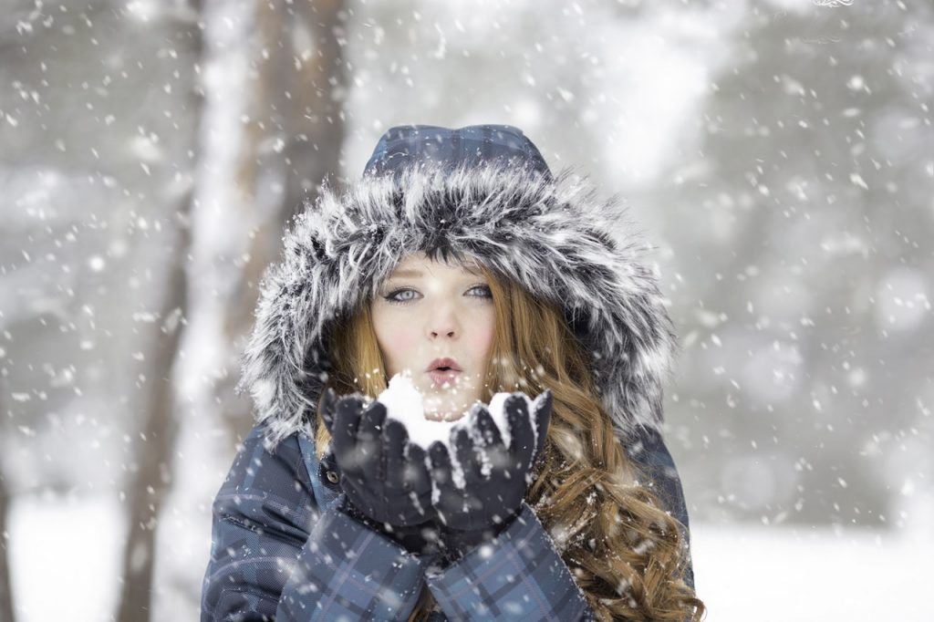 A beautiful girl - Ice photo