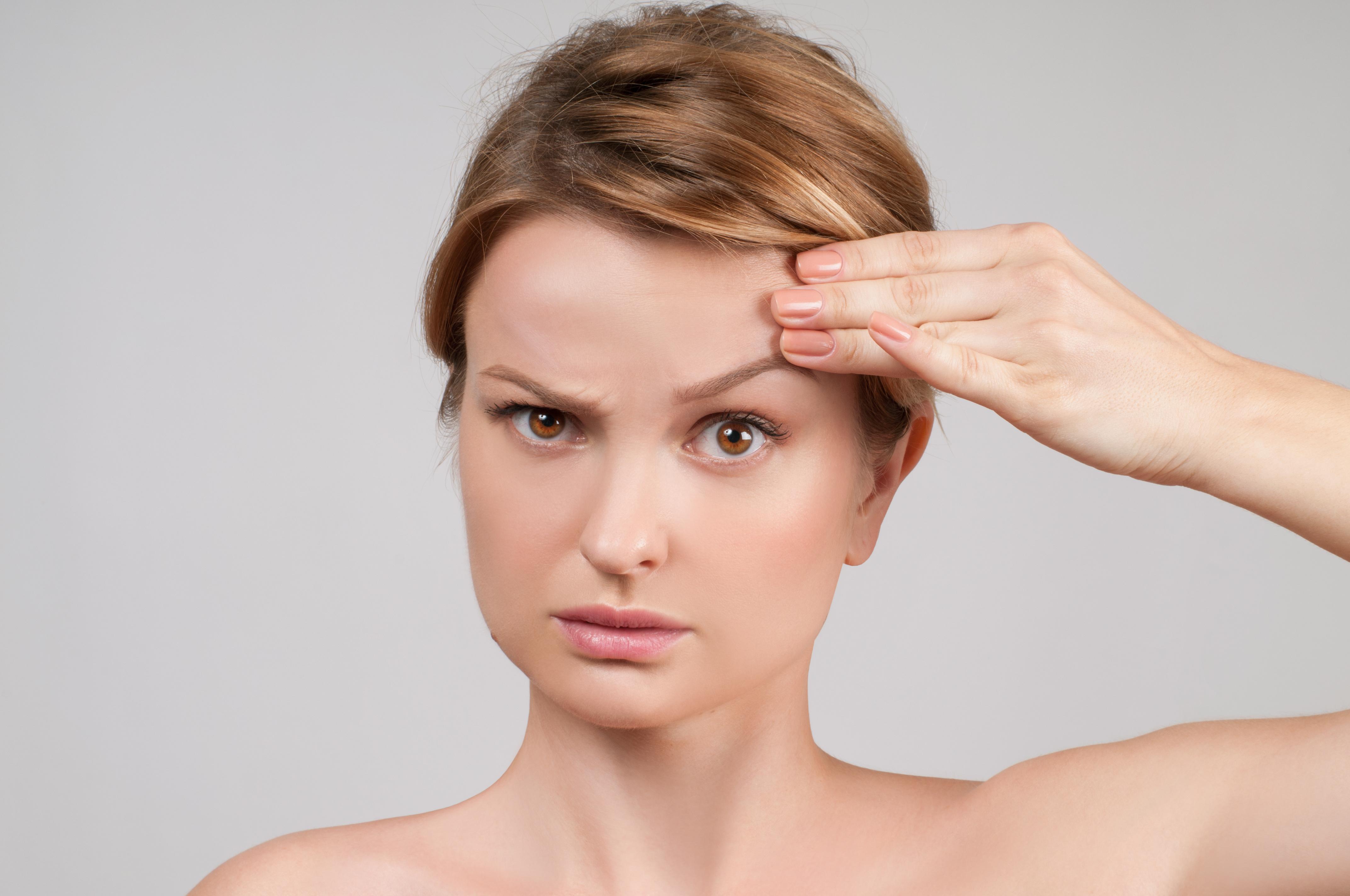 Botox Brow Lift woman