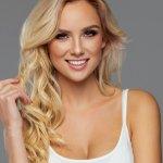 Beauty portrait of blond female
