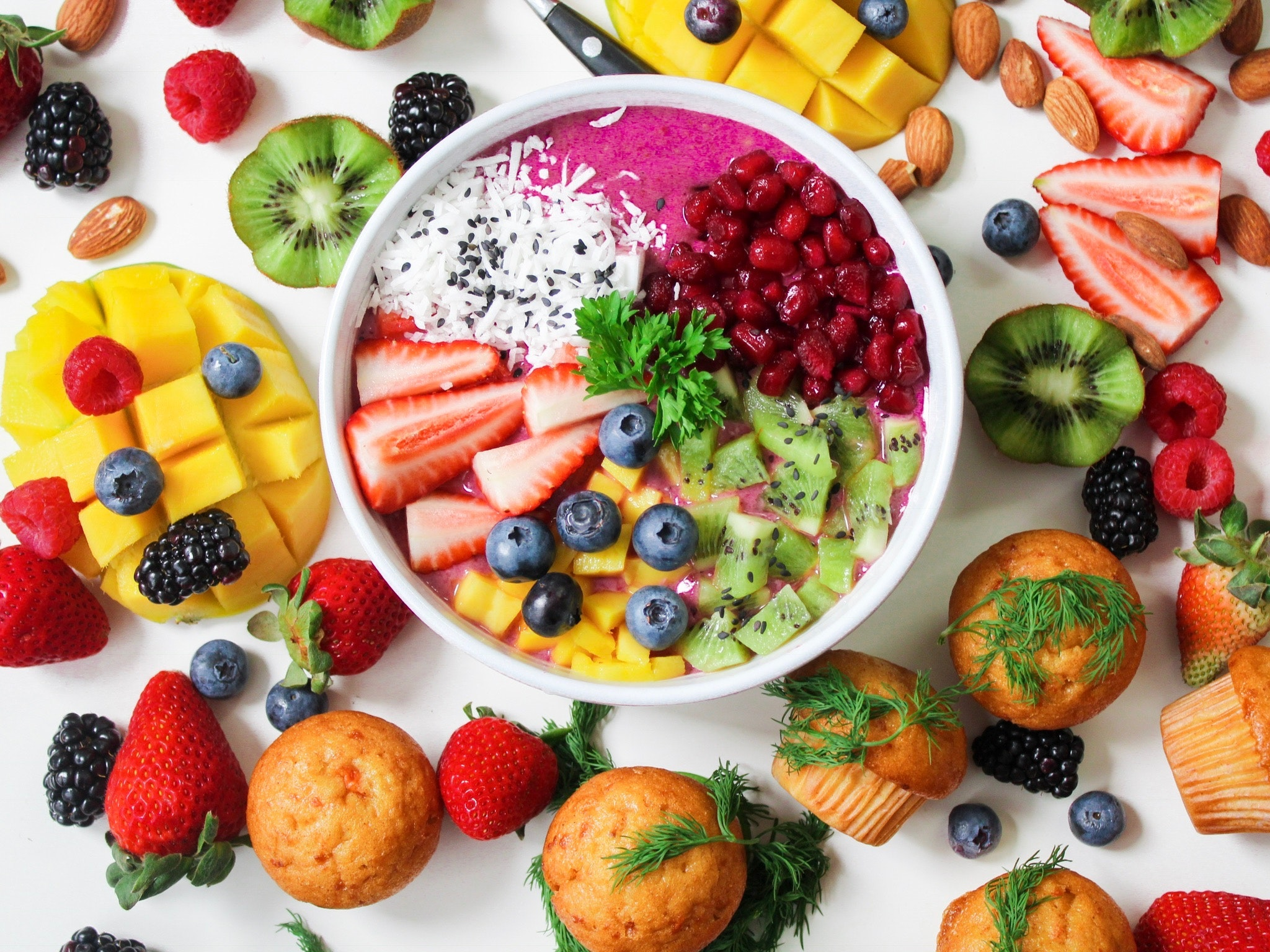 Skin-healthy foods to prevent sun damage to skin