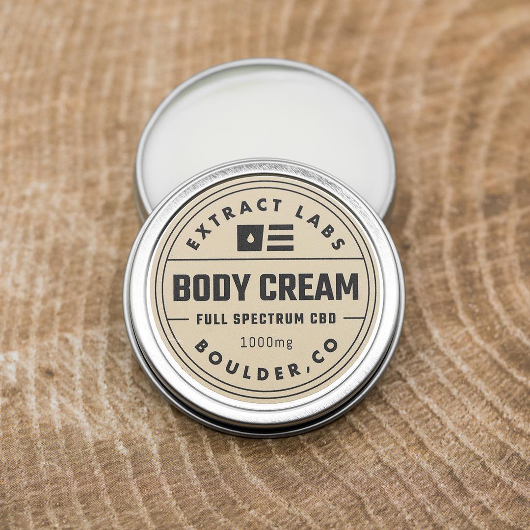 Extract Labs CBD Body Cream