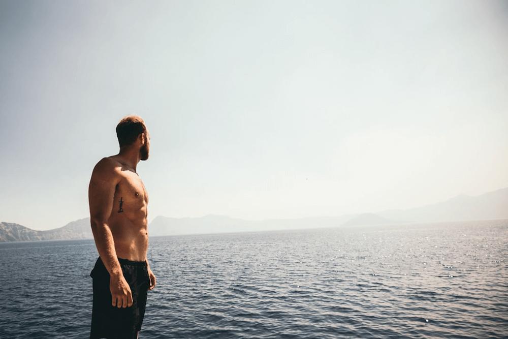 Shirtless Man - Laser hair removal