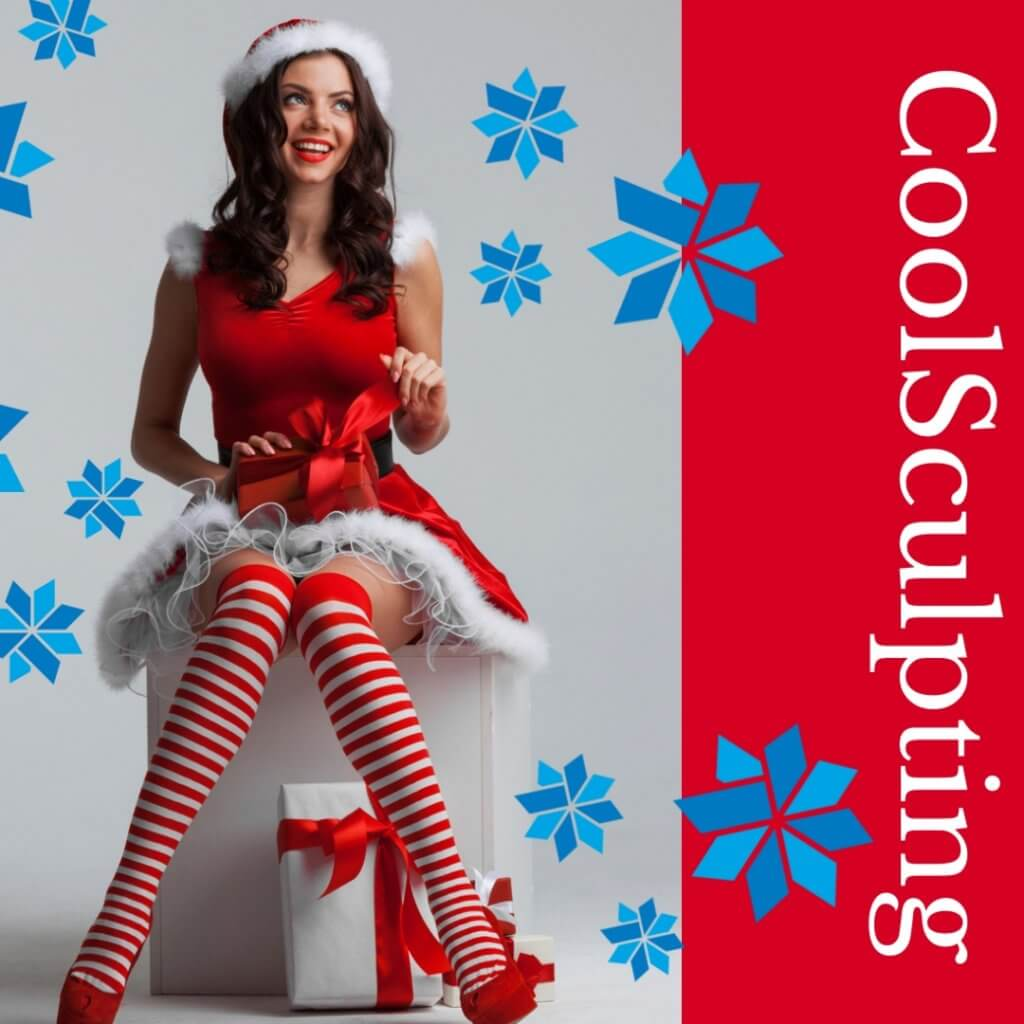 CoolSculpting Red Christmas Offer