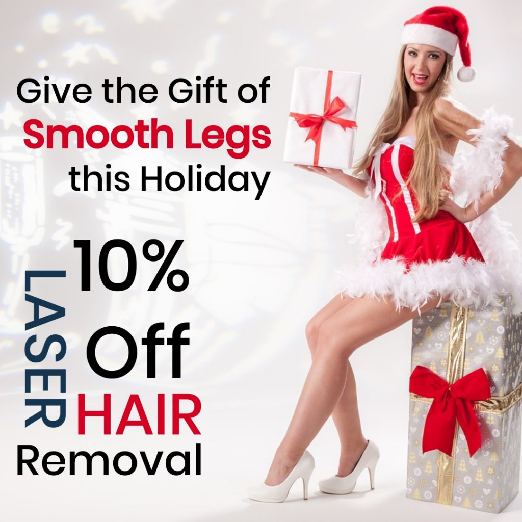 Laser Hair Removal Gift Offer this hoilday