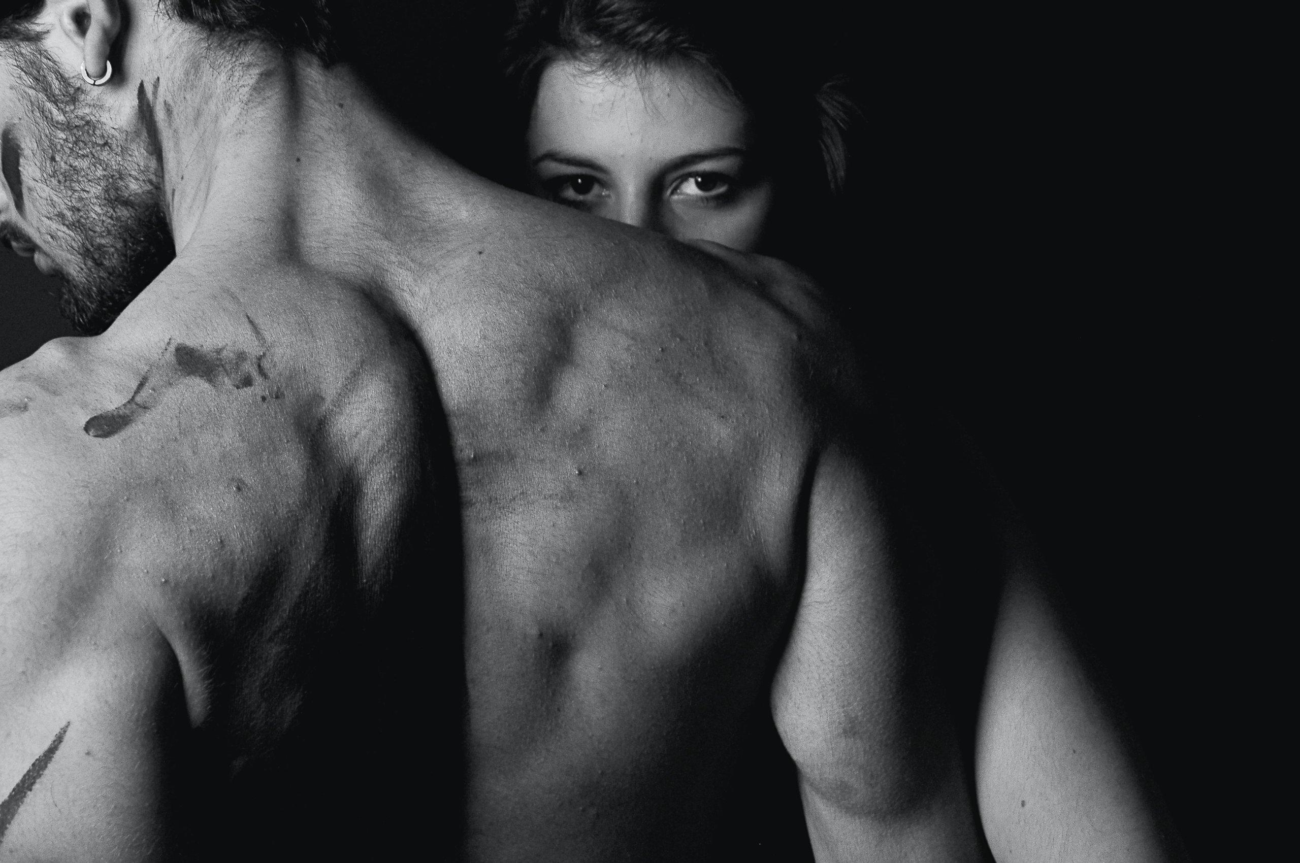 Man's back view - boost male libido