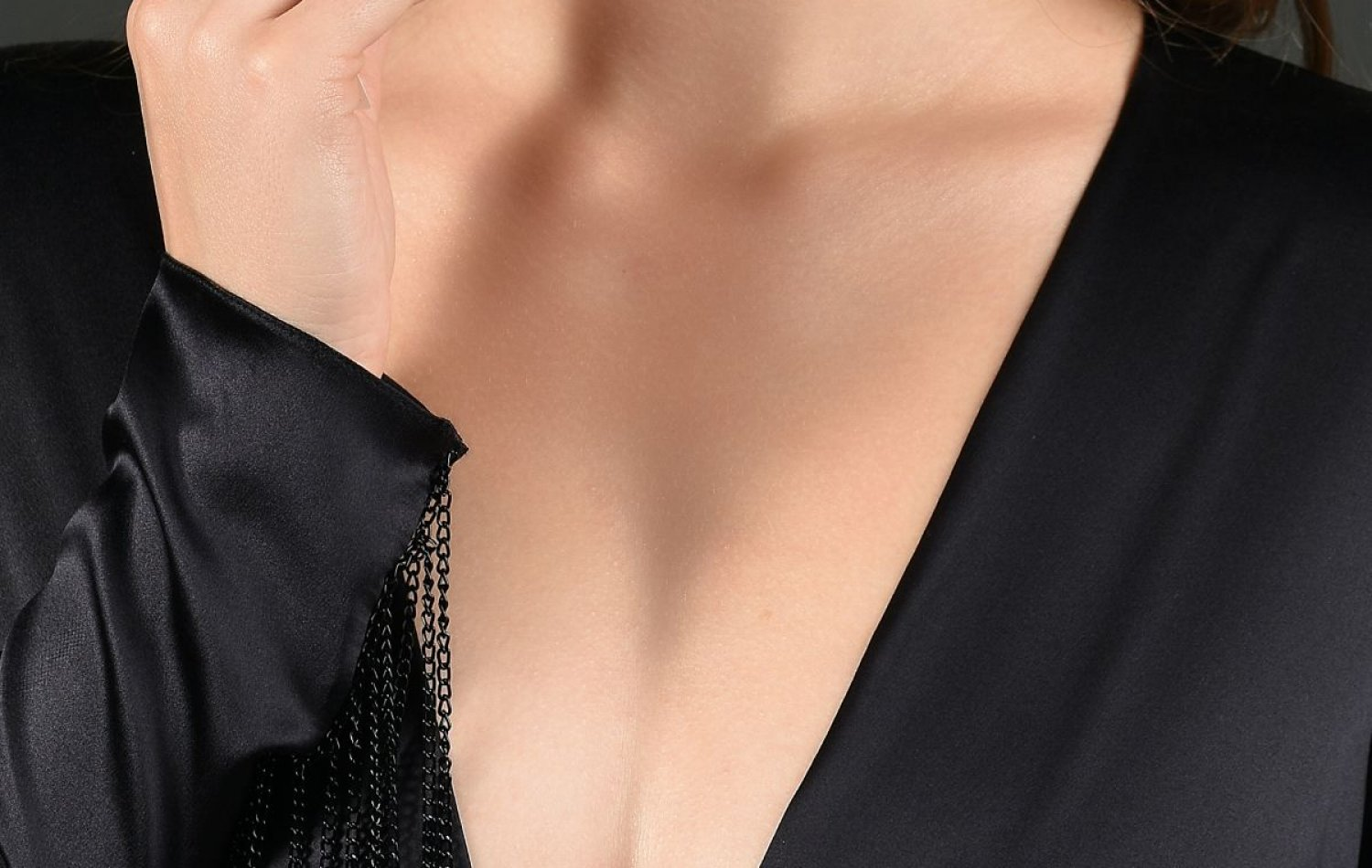 Cleavage shot for breast blogs